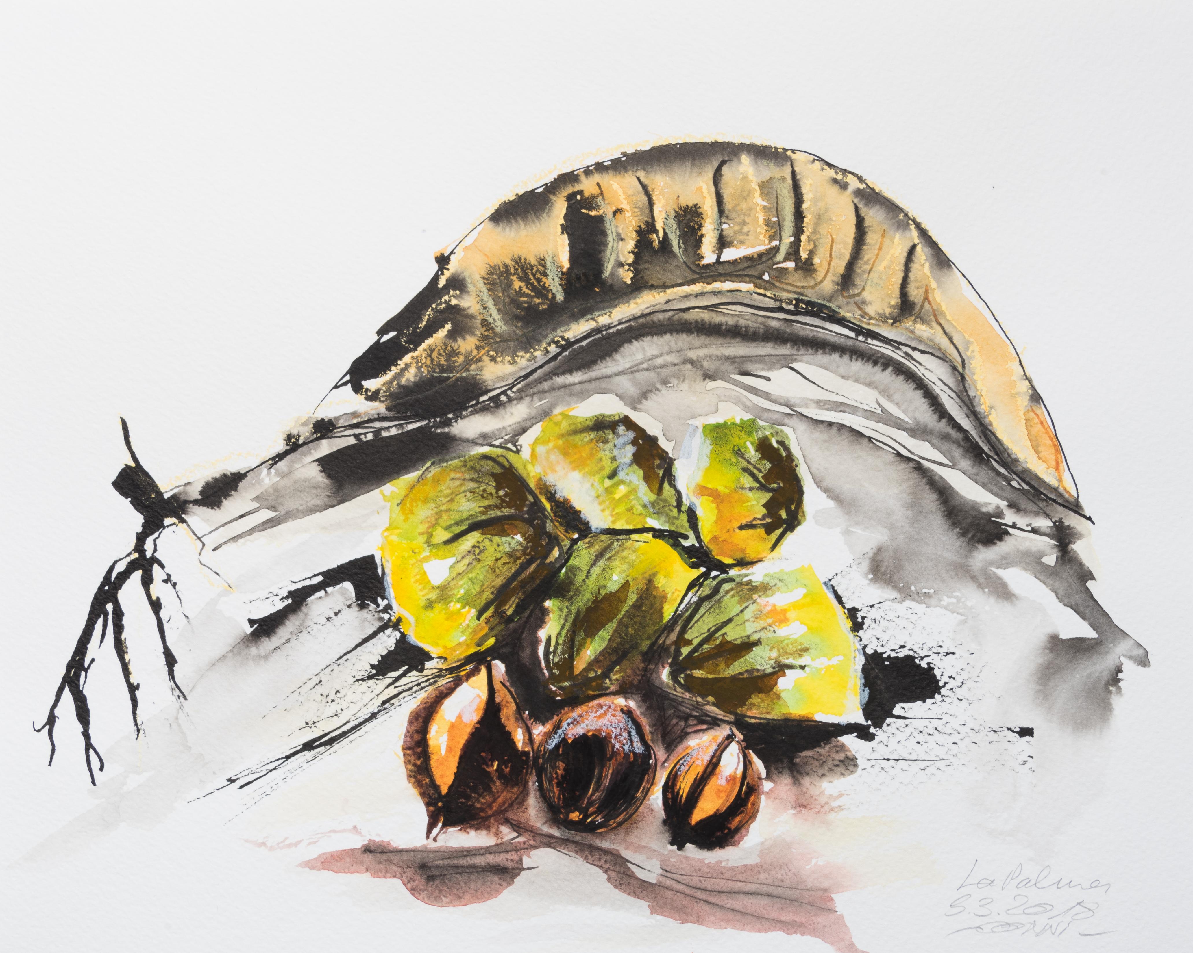 Nüsse und Schoten
